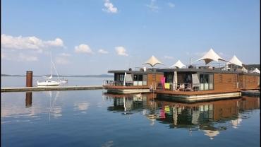 Little Maledives in Franken: Floating Village Brombachsee