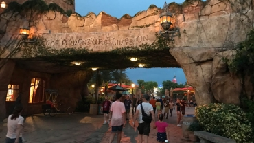 Island of Adventure – here I am!